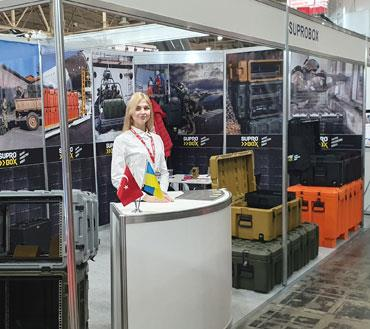 Koraltay Ukrayna Arms And Security 2019 Fuarında yer aldı.
